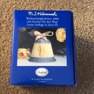 M.J. Hummel Light the Way Christmas Bell 2000